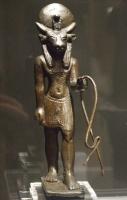 Быкоголовый египетский бог. Статуэтка из Эшмолеанского музея