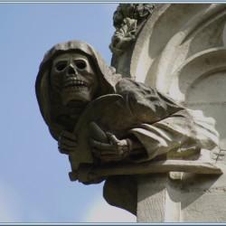Анку — горгулья Вифлеемской часовни (Сен-Жан-де-Буазо, Франция)