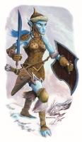 Хульдра. Иллюстрация Дэвида Гриффита для сеттинга D&D