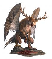 Перитон. Иллюстрация к бестиарию игр AD&D