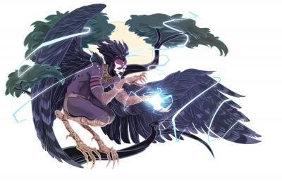 Импундулу. Иллюстрация Александрии Хантингтон