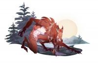Оборотень-скинуокер. Иллюстрация Александрии Хантингтон