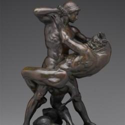 Тезей и Минотавр. Скульптура Антуана-Луи Бари