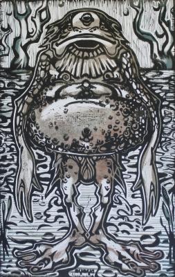 Оржавеник. Иллюстрация Кирилла Сидорова