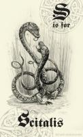 Сциталис. Рисунок Мелинды Биверс