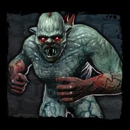 Цементавр из игрового мира The Witcher