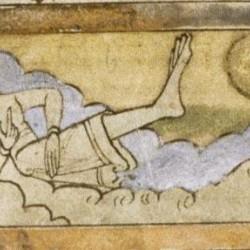 Скиапод. Рукопись Бодлеянской библиотеки (MS. Bodley 614, fol. 050r.)
