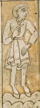 Гиппопод. Рукопись Бодлеянской библиотеки (MS. Bodley 614, fol. 050r.)