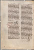 Животные и пантера. Рукопись библиотеки Паркера (CCC, Ms.22, fol.163v.)