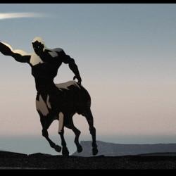 Chiron The Centaur. Art by Leonid Bloommer