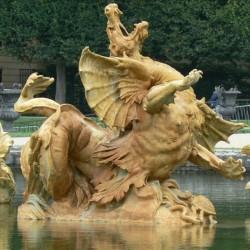 Драконий фонтан в Версале