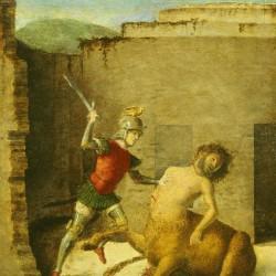 Джованни Батиста Чима да Конельяно «Тезей, убивающий Минотавра»