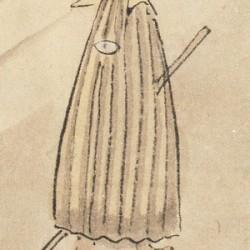 Двуногое изображение каса-обакэ