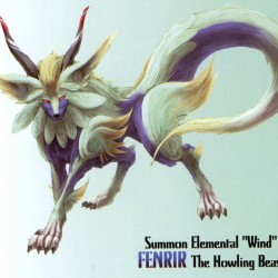 """Фенрир из игры """"Final Fantasy IX"""""""