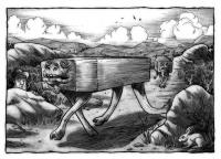 Похоронный горный террашот. Иллюстрация Ричарда Свенссона
