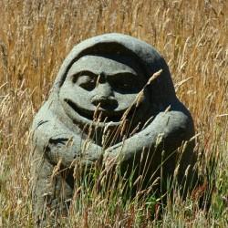 Статуя предположительно грамкина