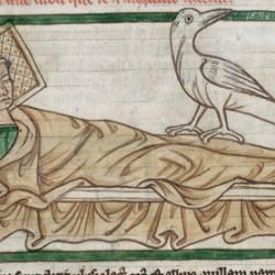 Харадр (Рукопись Британской библиотеки MS Harley 3244, fol. 42r)