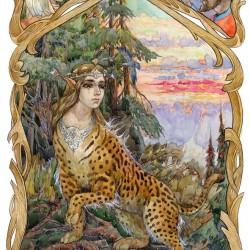 Арысь-поле. Иллюстрация Виктора Королькова