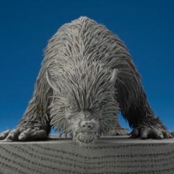 Скульптурка Гарма (вид спереди). Автор Эндрю Хиггинс