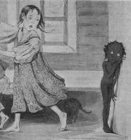 Кикимора. Иллюстрация Татьяны Гиппиус к сказке Н.Манасеиной