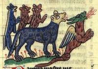 Благоухающая пантера и прячущийся от нее дракон. Бестиарий Национальной библиотеки Дании