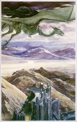 Крылатая Тварь. Иллюстрация Алана Ли
