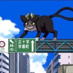 """Куро. Нэкомата из аниме """"Синий экзорцист"""""""