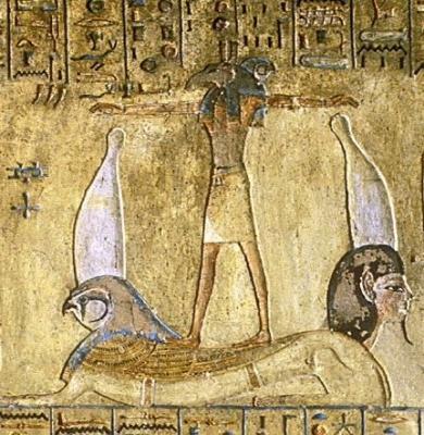 Сет-Хорус, двуглавый бог Херуифи