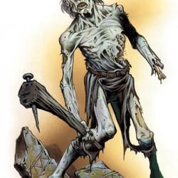 Зомби из D&D сеттинга. Иллюстрация Уэйна Рейнолдса