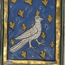 Харадр. Рукопись музея Гетти в Лос-Анджелесе (MS. Ludwig XV 3, fol.37r.)
