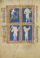Чудовищные народы. Рукопись музея Гетти в Лос-Анджелесе (MS. Ludwig XV 4, fol.117v.)