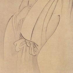 Призрак О-юки. Автор рисунка Маруяма Окё