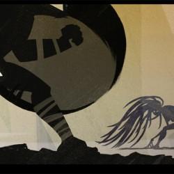 Medusa Gorgona. Art by Leonid Bloommer