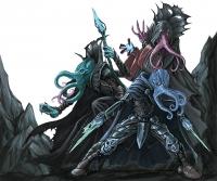 """Иллитиды из бестиария """"Dungeons & Dragons"""" 4-ой редакции. Иллюстрация Фрэда Хупера"""