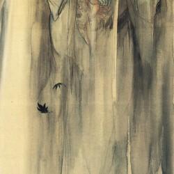Хисэкава Сигэнобу с ребенком (полная версия). Автор Ито Сэйу