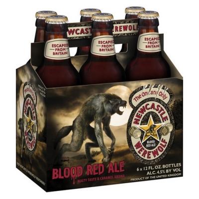 "Пиво ""Werewolf"" (Blood Red Ale) компании ""Scottish & Newcastle"""