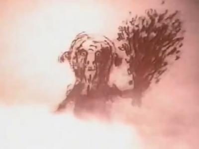 """Банник. Кадр из мультфильма """"Нюркина баня"""" (1995)"""