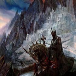Осада Минас-Тирита. Иллюстрация Джона Хоу
