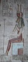 Богиня Мехурт. Барельеф храма Хатхор в Дейр эль-Медина
