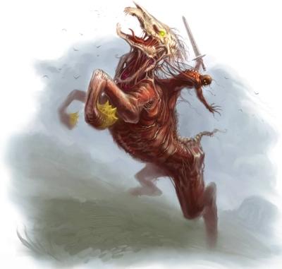 Нукелави. Иллюстрация Скотта Парди к сеттингу Pathfinder