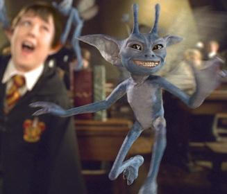 """Карнуэльский эльф. Кадр из фильма """"Гарри Поттер и тайная комната"""""""