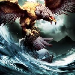 Птица Рок. Иллюстрация Гонсало Ордонеса Ариаса