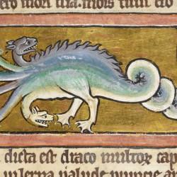 Гидра. Рукопись Британской библиотеки (Royal 12 C XIX, fol. 13r.)
