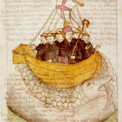 Ясконтий. Средневековая иллюстрация