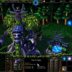 Энт. Скриншот из игры Warcraft III