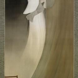 Юрэй с москитной сеткой. Автор рисунка Такаяма Умпо