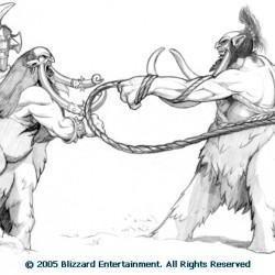 Магнотавры. Концепт-арт для World of Warcraft