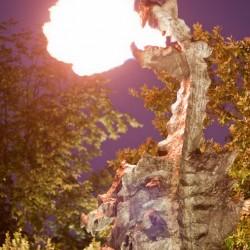 Вавельский дракон. Огнедышащая скульптура в Кракове