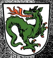 Линдворм на гербе коммуны Мурнау-ам-Штаффельзее