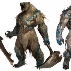 "WereBeasts. Концепт-арт к игре ""Guild Wars 2"""
